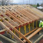 roof trusses for Widnes nursing home
