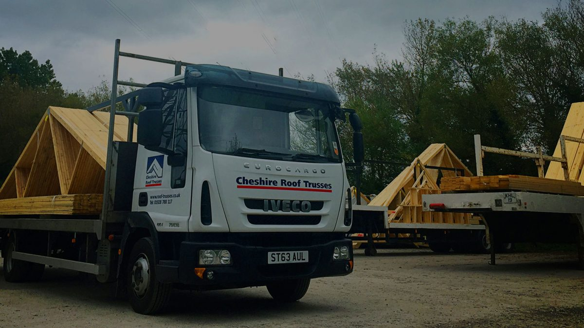 roof trusses and floor joists delivery