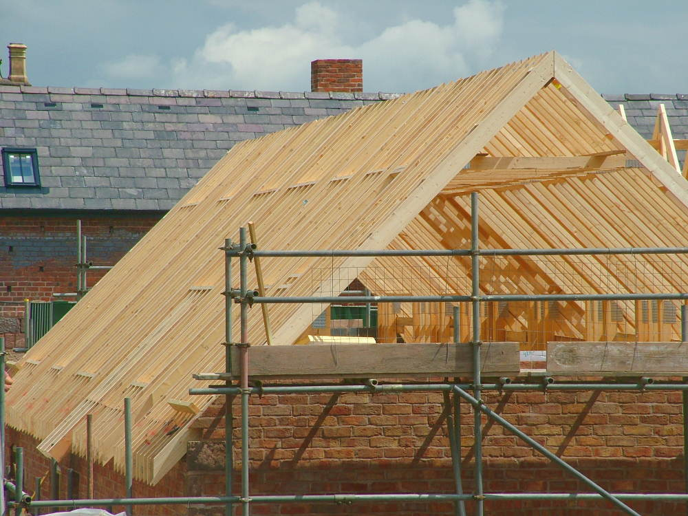 roof trusses North Wales