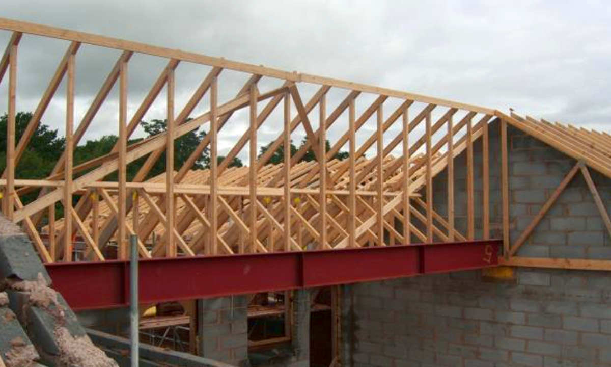Self Build Home In Tarporley Cheshire Roof Trusses