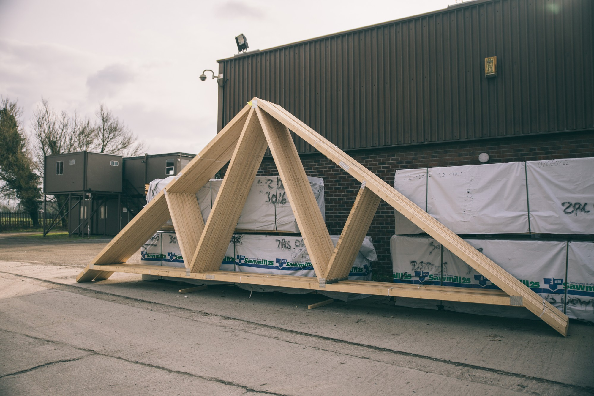 Fink Truss Cheshire Roof Trusses