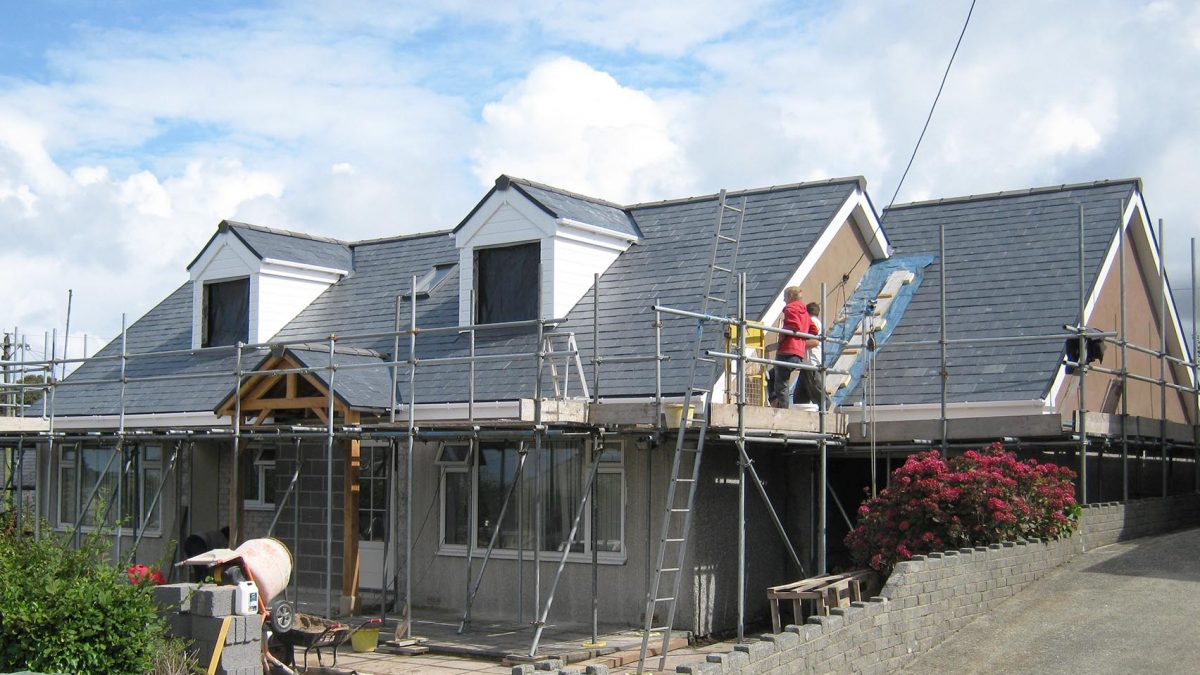 Loft Conversion On The North Wales Coast Cheshire Roof