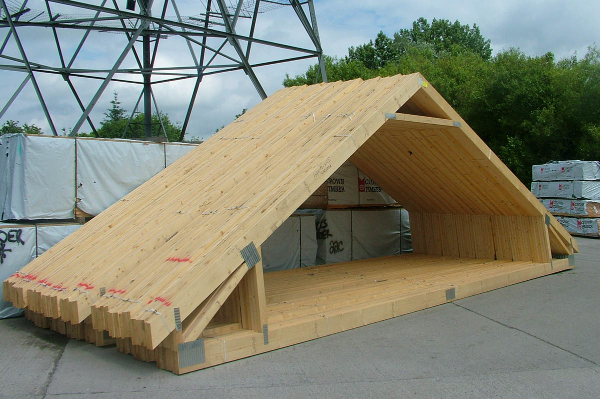 Attic trusses room in roof trusses cheshire roof trusses for Room design roof