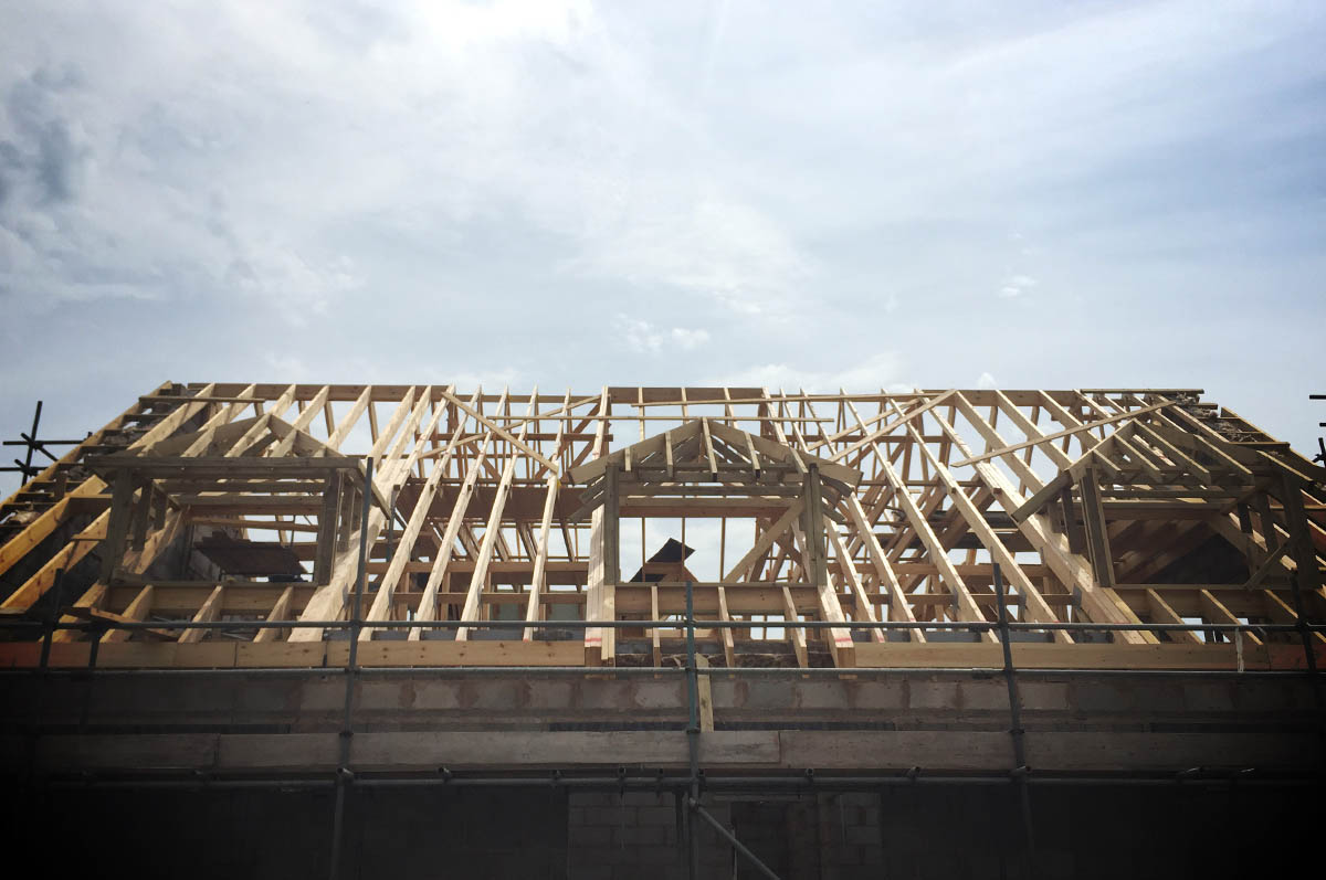 Attic trusses room in roof trusses cheshire roof trusses for Roof truss cost