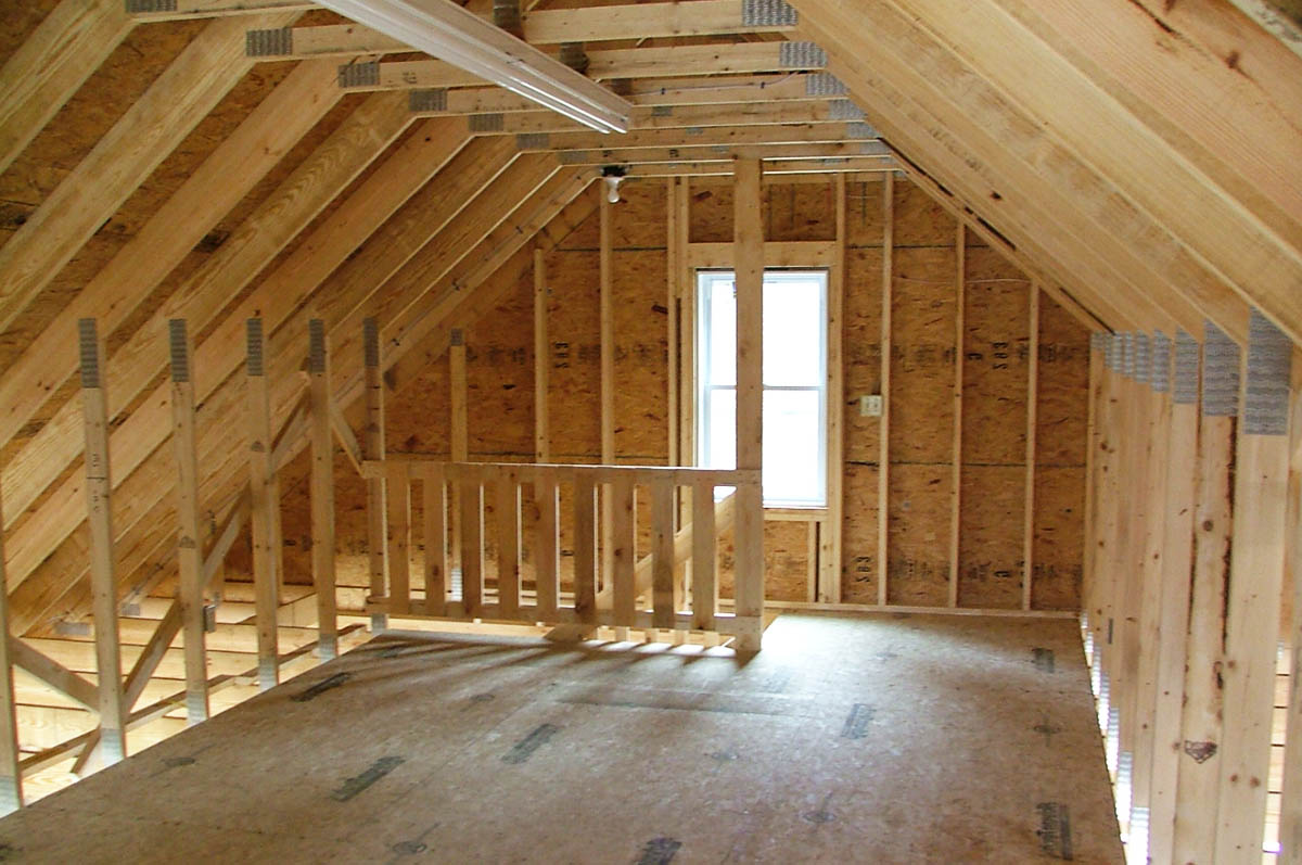 Attic trusses room in roof trusses cheshire roof trusses for Bonus room truss design